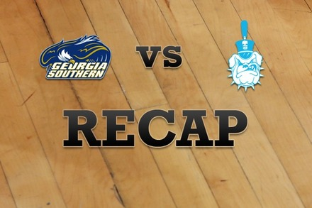 Georgia Southern vs. Citadel: Recap, Stats, and Box Score