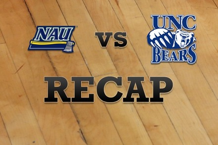 Northern Arizona vs. Northern Colorado: Recap, Stats, and Box Score