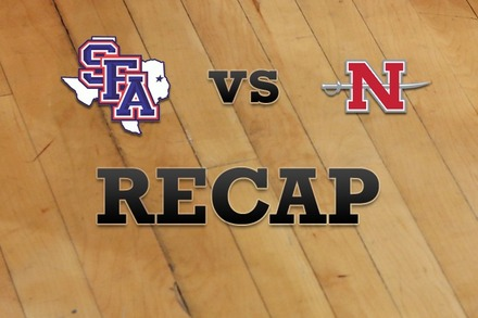 Stephen F. Austin vs. Nicholls State: Recap, Stats, and Box Score