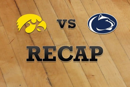 Iowa vs. Penn State: Recap, Stats, and Box Score