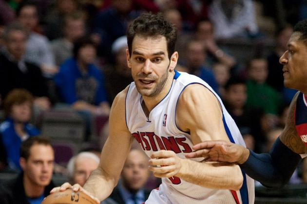 Grading Jose Calderon's First Games with Detroit Pistons