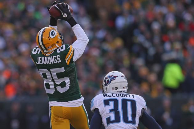 Greg Jennings Ranked as Top Free Agent Receiver on Market