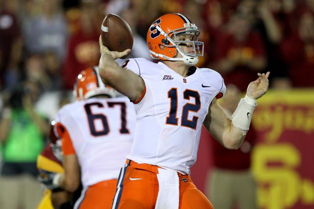 Ryan Nassib's Stock Could Rise at 2013 Scouting Combine, and Other AFC East News