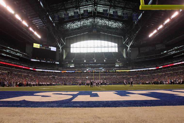 Street View Comes to Indianapolis Colts' Stadium