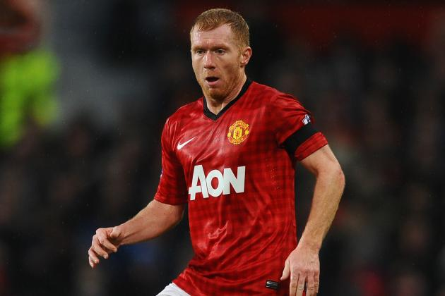 Manchester United's Paul Scholes Set to Miss Real Madrid Game
