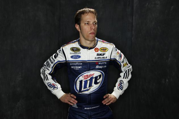 Brad Keselowski Disappointed Not Being in Sprint Unlimited