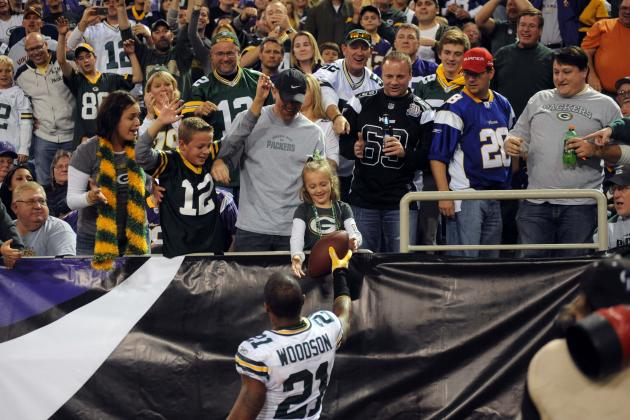 Charles Woodson Takes to Twitter to Thank Packers Fans