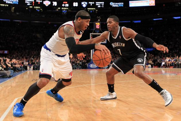 Rivalry Between Knicks and Brooklyn Nets Extends to Bid for 2015 All-Star Game