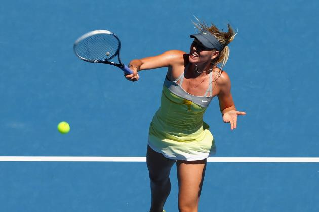 Maria Sharapova Beats Samantha Stosur in Straight Sets
