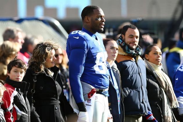 New York Giants Remain First Option for Tight End Martellus Bennett