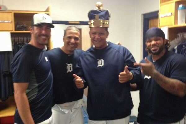 Photo: Cabrera Finally Dons His Triple 'Crown'