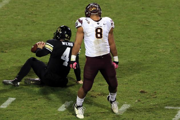 Arizona State Football: Schedules for Former Sun Devils in NFL Scouting Combine