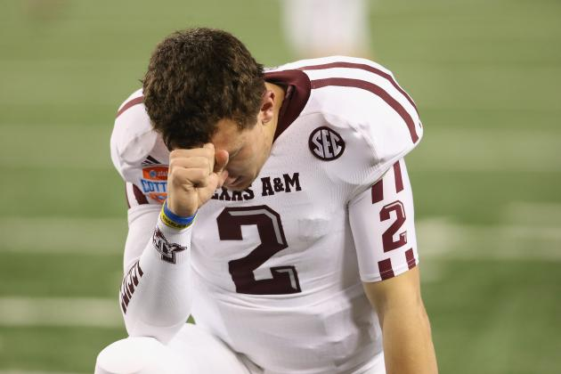 His NFL Stock Rising, A&M Already Planning for Life After Manziel