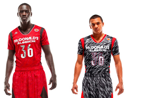 Adidas Short Sleeves Uniforms Attack All Americans Photo