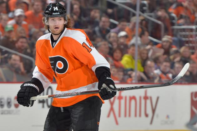 Couturier Skates, Could Return to Flyers' Lineup