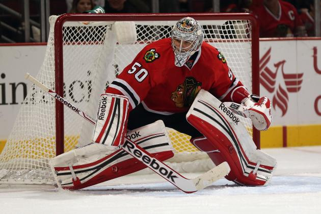 Crawford Day-to-Day with Upper-Body Injury
