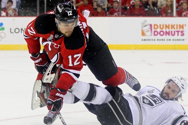 Ponikarovsky In, Matteau out Friday vs. Flyers