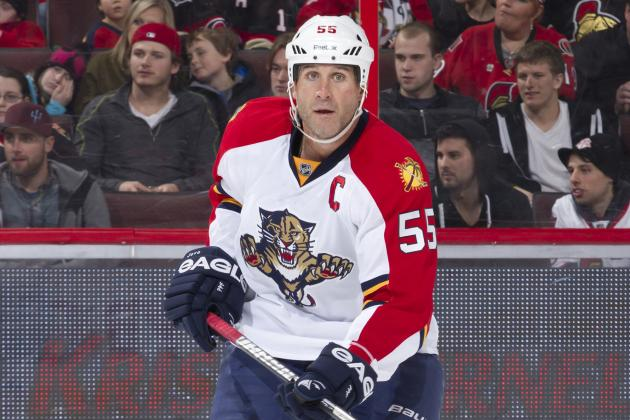Panthers' Jovanovski out Two More Weeks