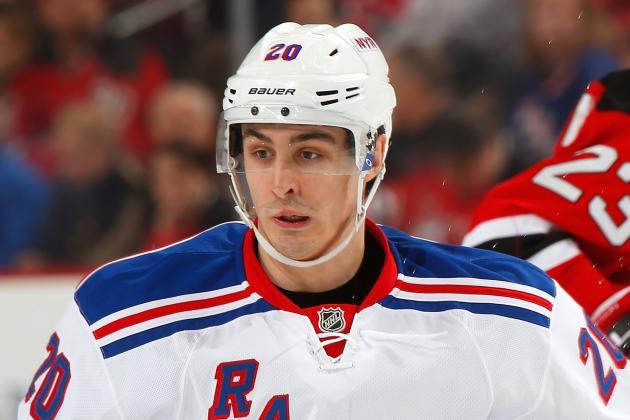 Chris Kreider Sent Down to AHL