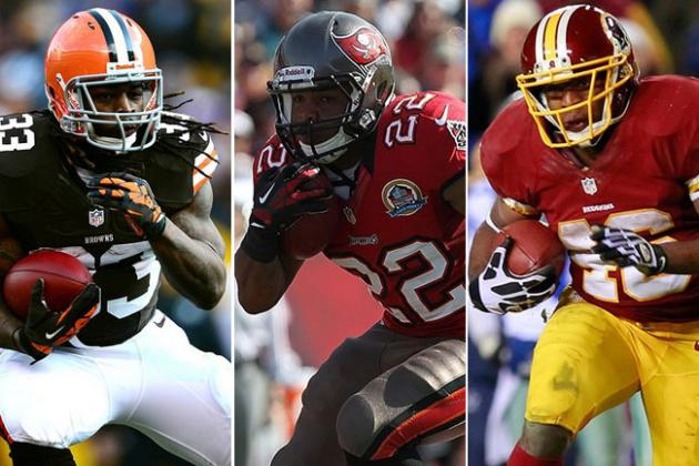 Would You Rather...Alfred Morris, Doug Martin or Trent Richardson?
