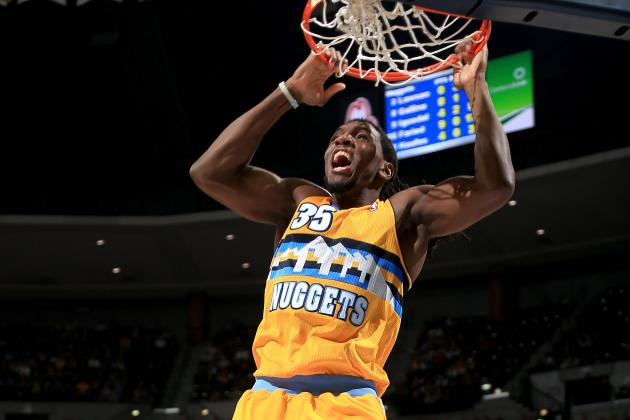 Kenneth Faried Talks Dunk Contest, Props