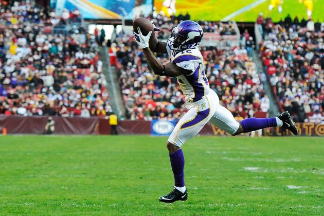 Spielman Says Vikings Have 'No Intent' to Trade Percy Harvin