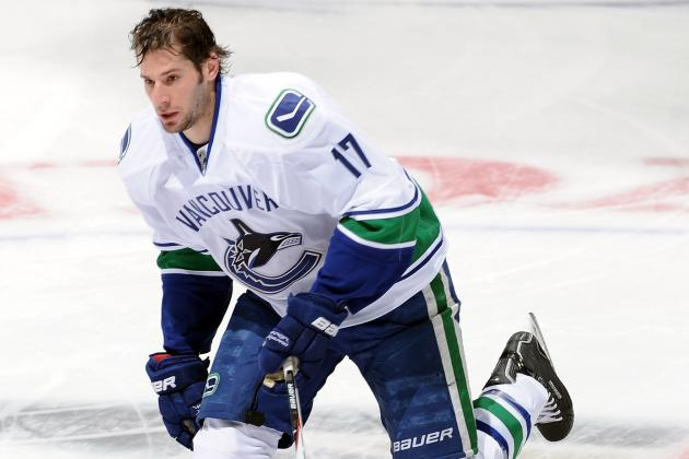 Coin Flip Puts Kesler in Canucks' Lineup