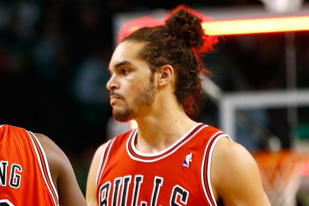 Joakim Noah Gets Treament for Plantar Fasciitis, Says Foot Is Better
