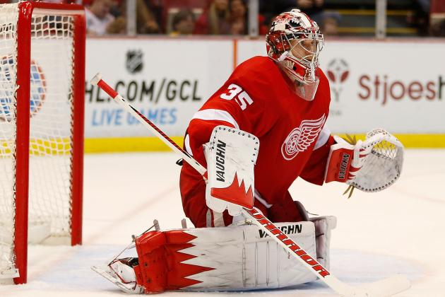 Contract Talks Begin Between Red Wings,Howard