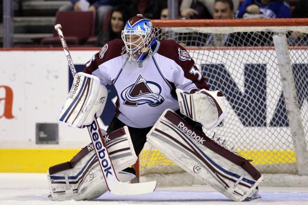 Avalanche's J.S. Giguere to Miss Game vs. Edmonton Oilers