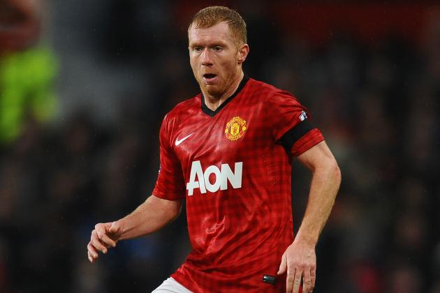 Paul Scholes out Injured for Two More Weeks, Says Sir Alex Ferguson