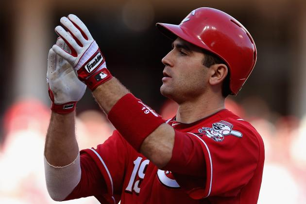 Reds' Votto Eager to Test Knee in Spring Training