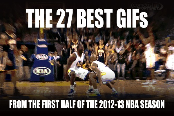 Best GIFs from the First Half of the 2012-13 NBA Season