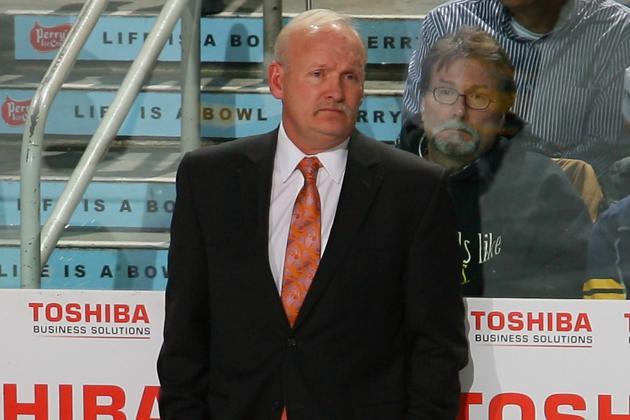 Ruff Takes Blame for Sabres' Sputtering Start