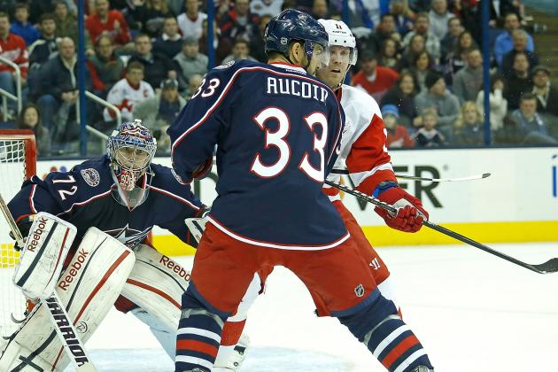 Blue Jackets Activate Adrian Aucoin off Injured Reserve