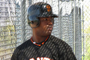 Villalona Reports to Giants as Long Journey Ends