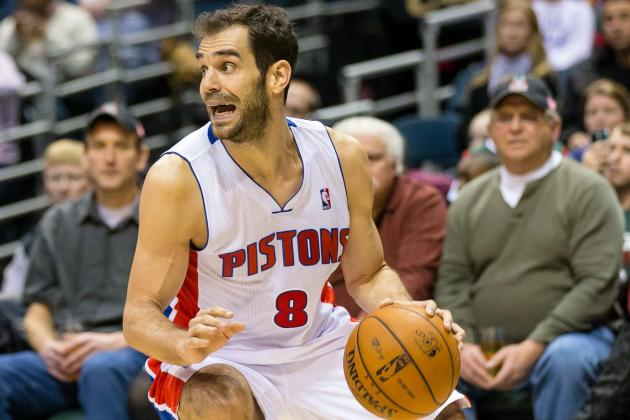 'Every Door Will Be Open to Jose Calderon Staying with Pistons