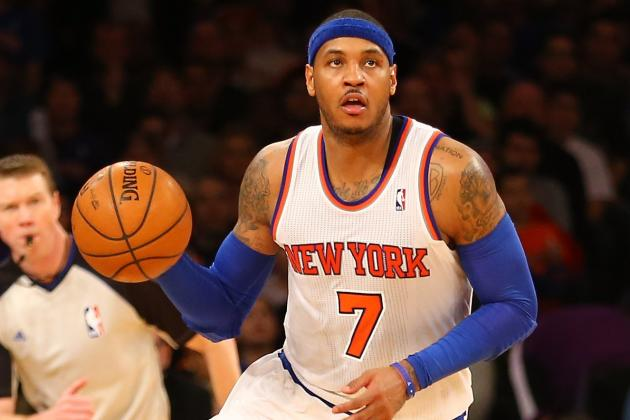 Source: Knicks' Anthony to Start All-Star Game