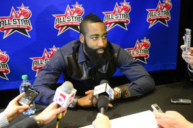 Ultimate Rockets  Video: All-Stars Heap Praise on James Harden