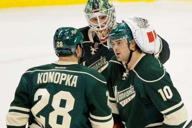 Minnesota Wild's Zenon Konopka Worthy of NHL Respect