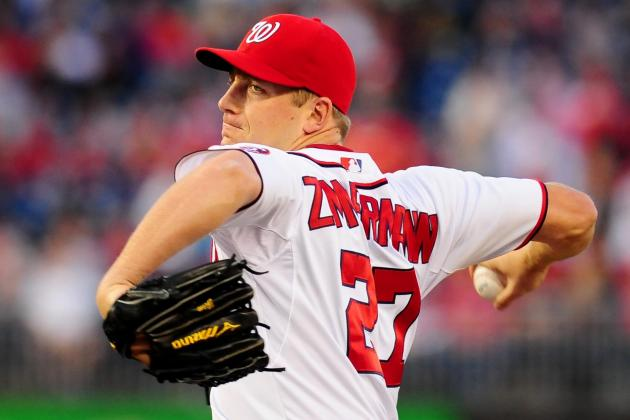 Nationals Avoid Arbitration with Jordan Zimmermann
