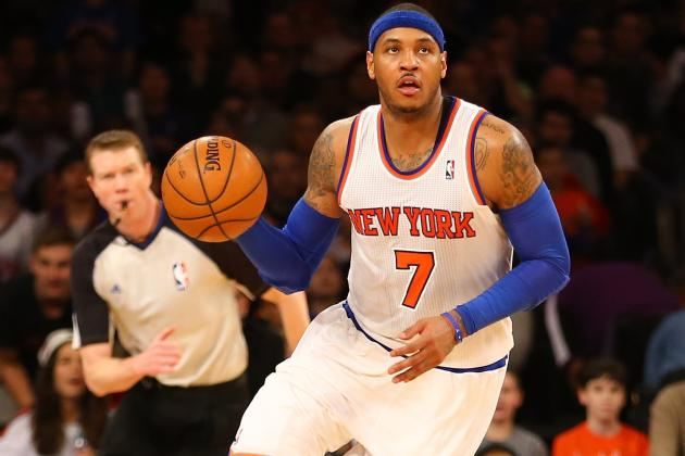 NBA All-Star Game 2013: Carmelo Anthony's Participation Is Risk for Knicks