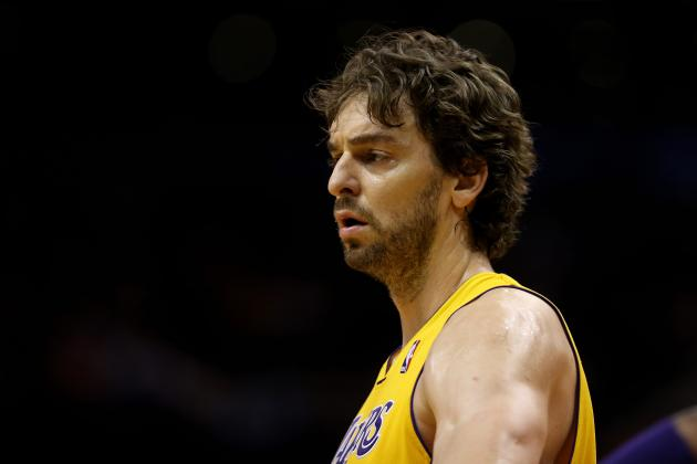 Pau Gasol Critical to Potential Lakers Playoff Run