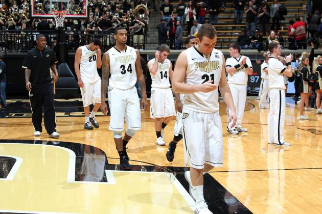 Hoosiers Provide Daunting Challenge for Struggling Purdue Men