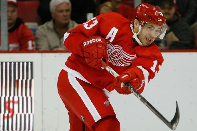 Pavel Datsyuk out for Tonight's Game with Injury, Listed as Day-to-Day