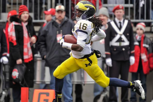 Todd McShay: Denard Robinson Must Improve as a Receiver