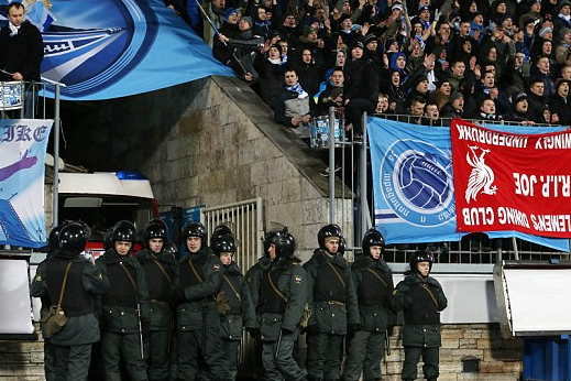 Liverpool Fans Allegedly Attacked Before, During and After Zenit Match
