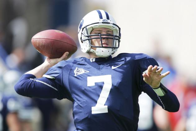 BYU Officially Names Jason Beck New QB Coach