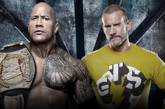 CM Punk vs.The Rock: People's Champ Will Retain at Elimination Chamber