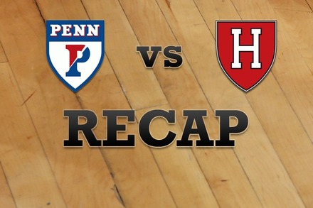 Penn vs. Harvard: Recap, Stats, and Box Score